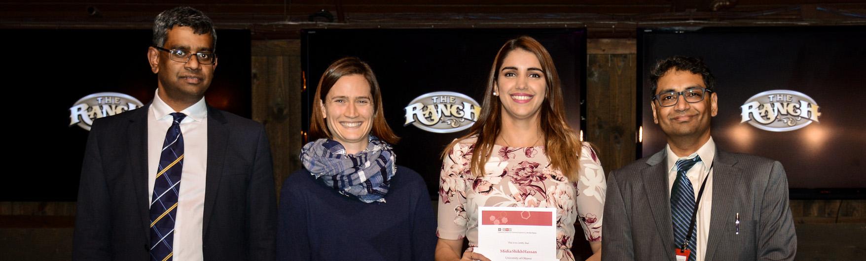 Gagnante de la compétition CIC 2017