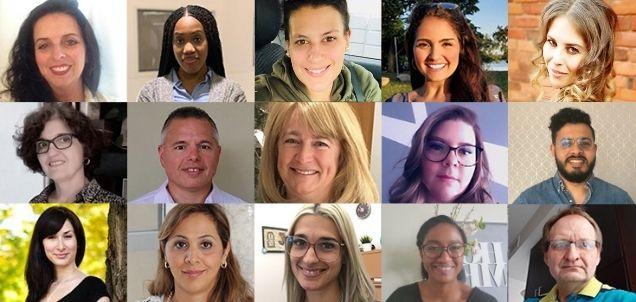 le personnel 2019 du bureau du premier cycle de la Faculté de génie