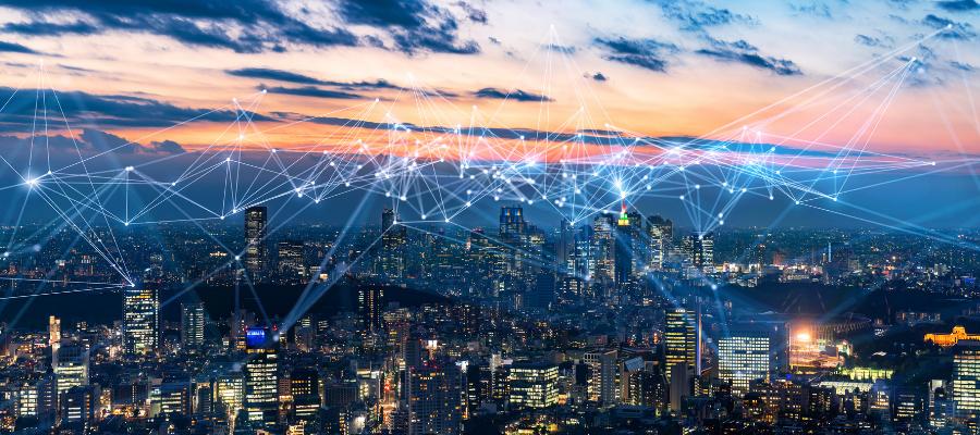 Villes ayant des réseaux