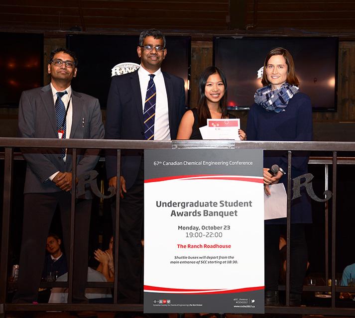 Dr. Simat Uperti, Dr. Uttandaraman, Linda Tang, et Dr. Sarah Creber.