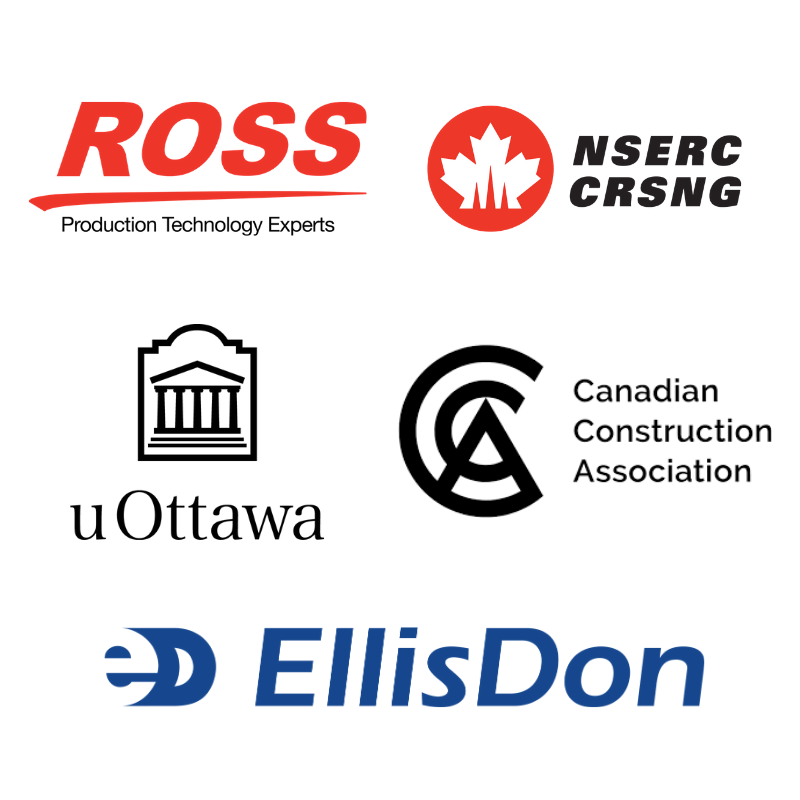 Ross Video, NSERC, University of Ottawa, Canadian Construction Association and Ellis Don