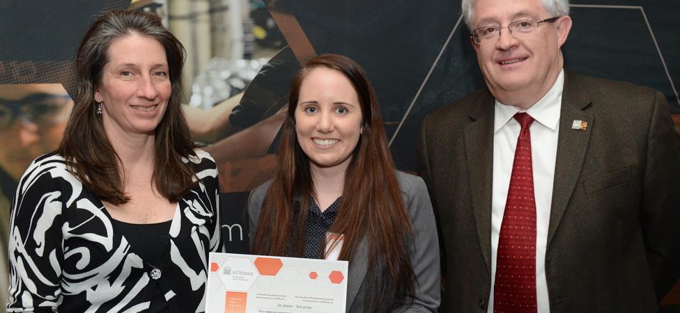 NSERC Women in Engineering Award Winner