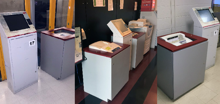 Collage of our printers