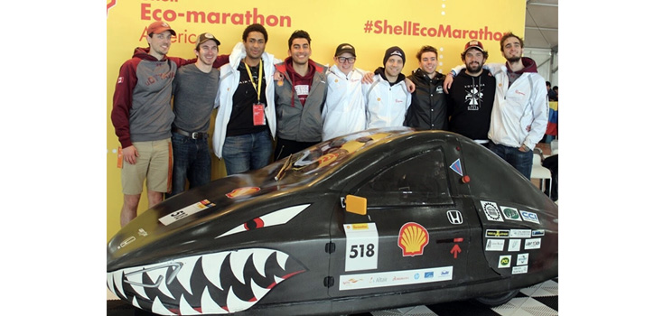 Supermileage Urban 2019 team